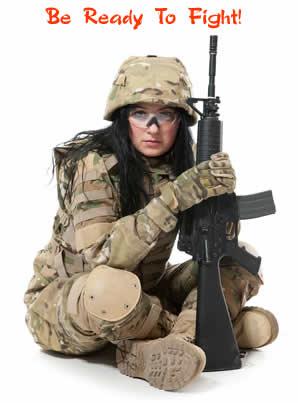 Female Spiritual Warrior