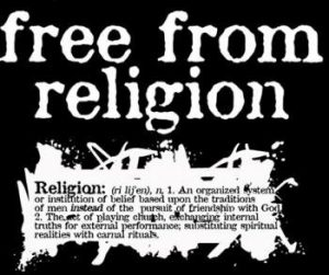 Be Free from ANY Religion