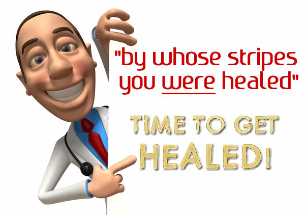 The Great Physician is Available: Time To Get Healed!