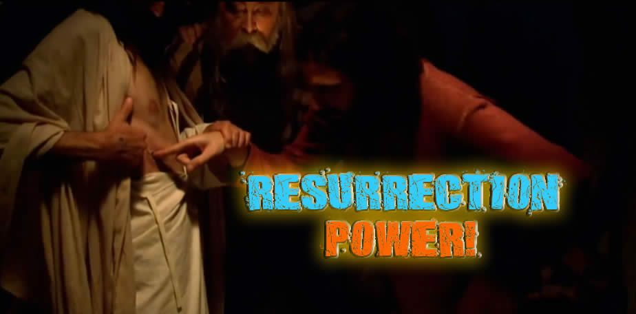 Touch Me - Jesus said - Proof that He resurrected and He's alive.