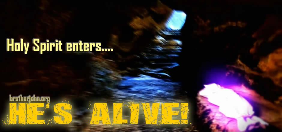 He's Alive! He Resurrected!