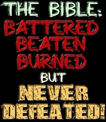 Beaten Battered Burned Bible