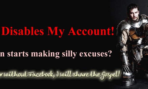 Facebook Disables Account
