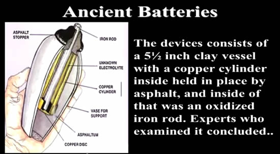 Ancient Batteries
