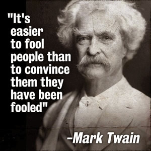 Easy to Fool Twain