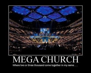 Mega Church Preaches Pop-Gospel