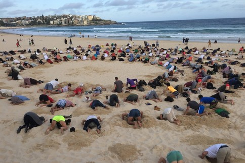 People Bury Their Heads in the Sand