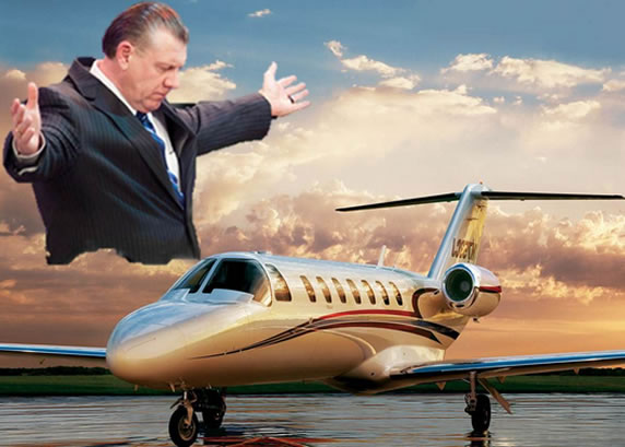 The Televangelist & His Private Jet