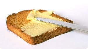 Spread Margarine on Toast