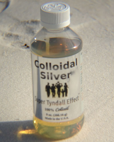 Colloidal Silver - Kills Viruses