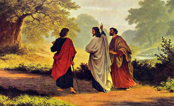 Jesus on the Way to Emmaus